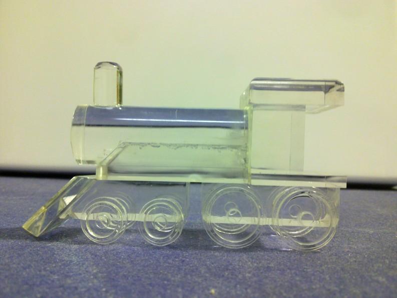 Acrylic Train