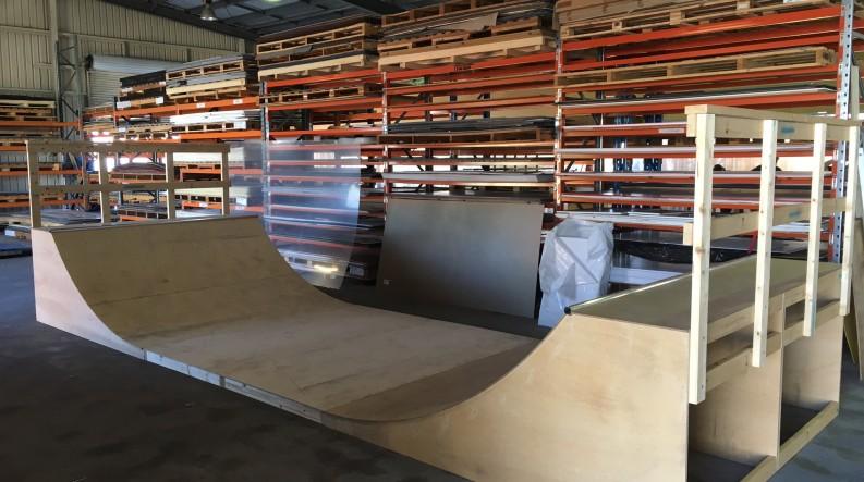 Half Pipe - Plywood