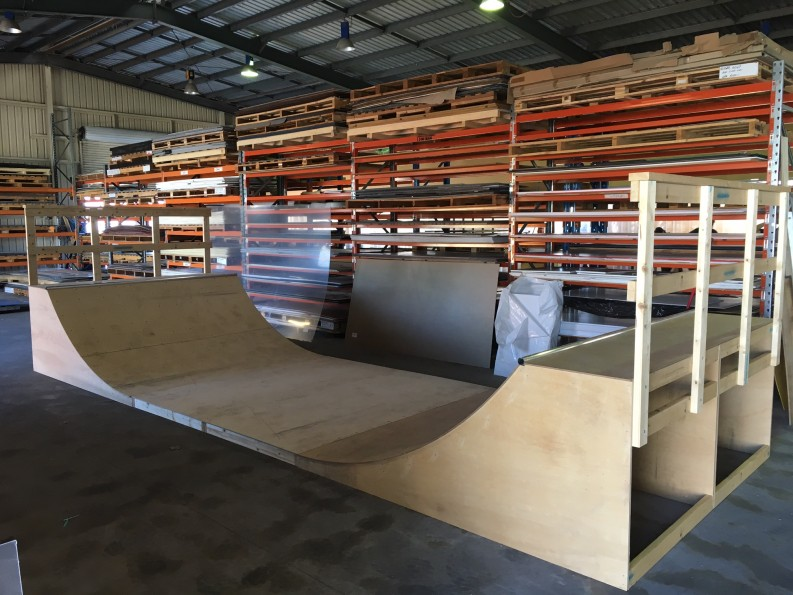 Half Pipe - Plywood
