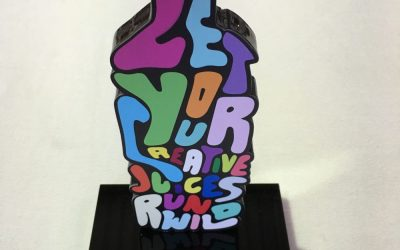 Acrylic Trophy with Print